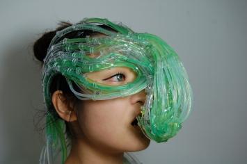 Burton Nitta (Michael Burton & Michiko Nitta), Near Future Algae Symbiosis Suit – Protoype, 2010, Fotografie / Photography, Courtesy the artist