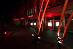 Ueli Berger, Chribel(Stahlskulptur) vor dem Gebäude der Mobiliar an der Bundesgasse,Foto: Swissphotoart