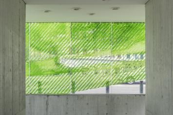 Norbert Möslang, raster_projektion, 2008, Kunst im öffentlichen Raum der Stadt St.Gallen, Fotografie: Anna-Tina Eberhard, St.Gallen