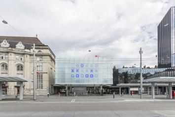 Norbert Möslang, patterns, 2018, Kunst im öffentlichen Raum der Stadt St.Gallen, Fotografie: Anna-Tina Eberhard, St.Gallen
