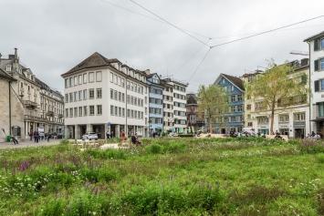 Heinrich Gartentor, Insel in der Stadt, 2019, Stadt Zürich,CourtesyKunst im öffentlichen Raum (KiöR).Foto: Peter Baracchi