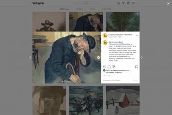 Kunstmuseum Basel,#MuseumMoodsofQuarantine, Instagram-Post, 10.1.21
