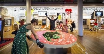 Museum für Kommunikation.Foto: Thijs Wolzak