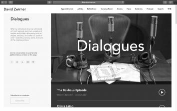 ‹Dialogues› der Galerie David Zwirner (davidzwirner.com)