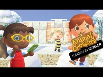 Animal Crossing X Fondation Beyeler, Screenshot