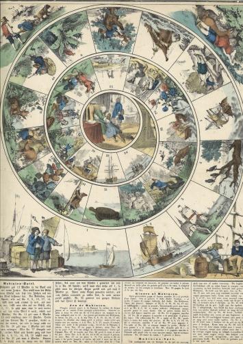 Robinson-Spiel aus der Robinson-Bibliothek, Kunst(Zeug)Haus Rapperswil