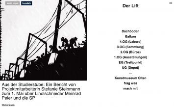 Der Lift, Kunstmuseum Olten, Screenshot (Blog: derlift.tumblr.com)