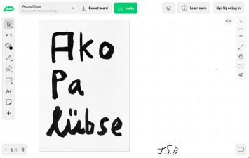 Jonas Baumann, Akopalübse, 2020, Quarantaine, Online-Ausstellung von Space Out, Screenshot
