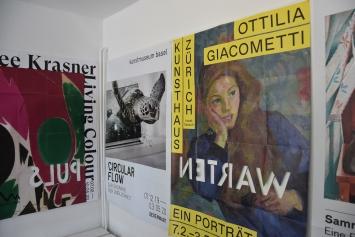 Ursula Rutishauser, en passent, 2020, Ausstellungsansicht Kunsthaus Steffisburg