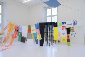 Ausstellungsansicht Anne Käthi Wehrli, Foto: Zoe Tempest