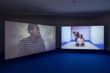 Ausstellungsansicht Julia Geröcs und Gabriel Studerus, Foto: Zoe Tempest