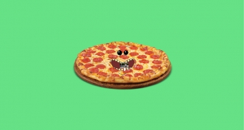 I Will Say Whatever You Want In Front Of A Pizza (2017), Sebastian Schmieg