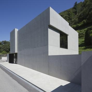 Fondazione Marguerite Arp, Locarno.Kunstdepot und Ausstellungsraum. Foto: Roberto Pellegrini.