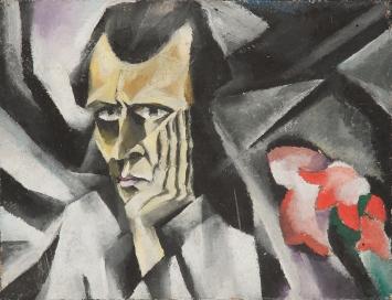 Otto Morach, Selbsbildnis, 1916, Kunstmuseum Olten