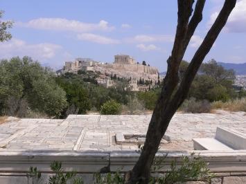 Dimitris Pikionis, Path on the Filoppapou hill, built 1954-1958. Photo: Werner Egli