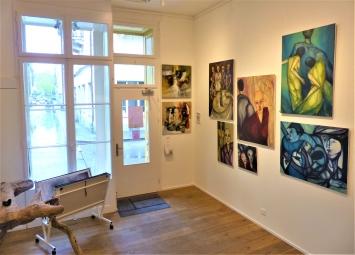 Vorderer Ausstellungsraum