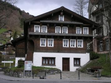 Das Tal Museum Engelberg befindet sich Mitten im Dorfkern von Engelberg.