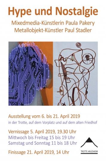 Plakat Ausstellung Museum Trotte CH-Arlesheim