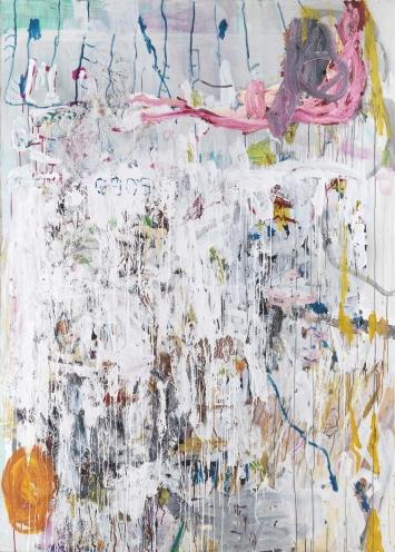 Ohne Titel 2005 oil on canvas 230 x 164 cm