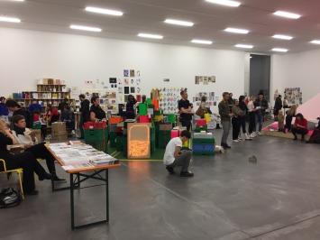 Überblick,Löwenbräu / Kunsthalle Zürich.Foto: Brita Polzer