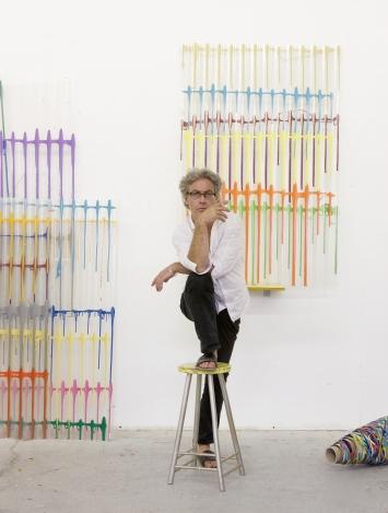 Beat Zoderer, Atelieraufnahme, 2014