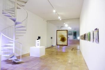 Killing Time — Noah Latif Lamp, Ausstellungsansicht, 2021