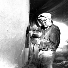 Peter Travaglini, Tellenapfel, 1972. Foto: Peter Zurschmiede