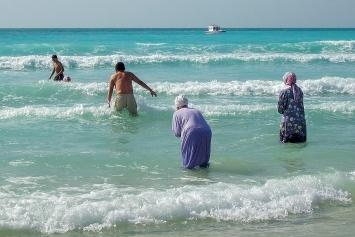 Dubai, Jumeirah Beach, 8.4.2018.Foto: Samuel Herzog