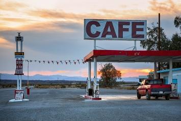 Roy's Café, Mojawe-Wüste (USA), Mittwoch, 25.8.2010.Foto: SH