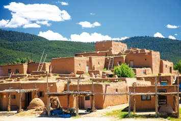 Taos Pueblo, New Mexico (USA), 17.8.2010.Foto: SH