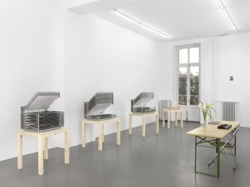 Sarkis, Punctum, Galerie Mezzanin, Genf (Ausstellungsansicht).Foto: Annik Wetter