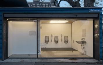 Kunstraum Satellit, Ausstellung Philipp Schaerer und Reto Steiner 2020/21 / Bild: Carolina Piasecki