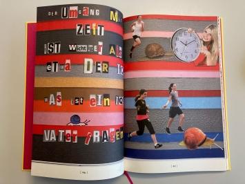 """Anita Zimmermann,""""Wenn Schnecken hüpfen könnten"""" - """"Natürlich können Schnecken hüpfen"""", 2014, Kunst am Bau der Stadt St.Gallen"""