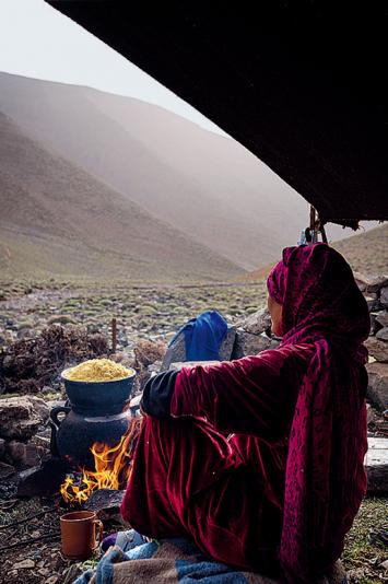 Abdellah Azizi · Nomaden auf Zeit– Bilder einer Familie aus Marokko, Farbfotografien, Courtesy Historisches und Völkerkundemuseum