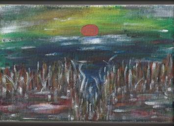 Acryl auf Leinwand, 20 x 30 cm, 02/2020