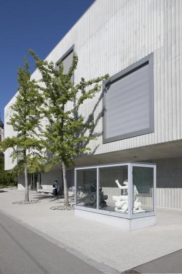 Simon Starling, Fountain, 2017, Teil 1von 3, Standort Naturmuseum St.Gallen, Kunst im öffentlichen Raum der Stadt St.Gallen, Fotografie: Anna-Tina Eberhard, St.Gallen