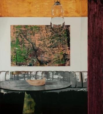 Stéphane Ducret, Painting Number 4 (#Gerhard Richter #ImiKnoebel), 2019