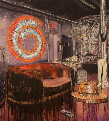 Stéphane Ducret, Painting Number 6 (#BruceNauman #AndyWarhol), 2019