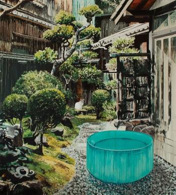 Stéphane Ducret, Painting Number 8 (#RoniHorn #Mousseline), 2020