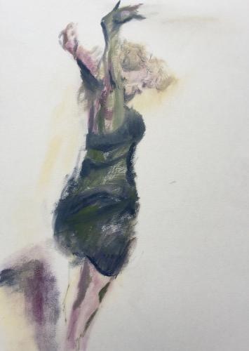 stiller Tanz, 2018, ArtistNicole Sacher