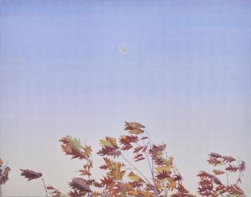 Tami Ichino, ‹Silent Vibration›, 2018, Acryl auf Leinwand, 110 x 80 cm