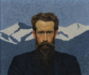 Ulrich Wilhelm Züricher, Selbstbildnis, 1907, Schenkung Arnold Mettler-Specker