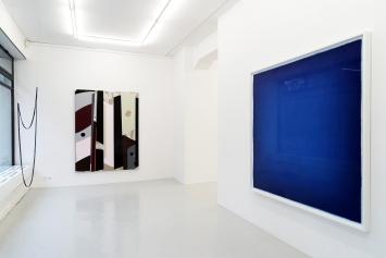 Installation shot. Grand Bleu, 12December 2020 – 23January 2021, Lullin + Ferrari