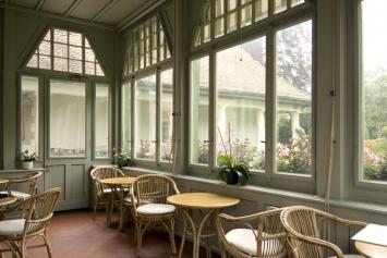 Museum Langmatt, Veranda-Café