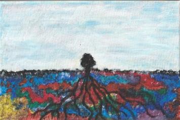 Acryl auf Leinwand, 20 x 30 cm, 04/2020