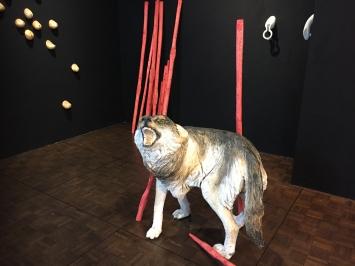 Wolf Pappelholz 85 x 75 x 72 2020