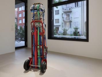 Exhibition view Umut Yasat Soloshow «5/1; view on Der Stapel 3, 2017» at Windhager von Kaenel, Zurich, 2020 / Courtesy: the artist and Windhager von Kaenel