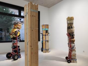 Exhibition view Umut Yasat Soloshow «5/1» at Windhager von Kaenel, Zurich, 2020 / Courtesy: the artist and Windhager von Kaenel